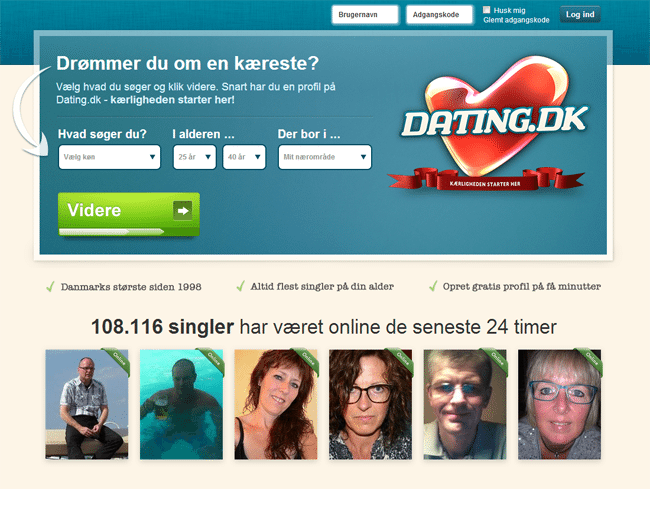 nyeste gratis datingside